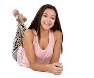 Muchacha adolescente ocasional Fotografía de archivo libre de regalías