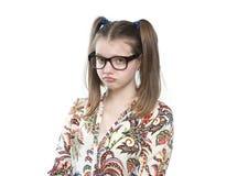 Muchacha adolescente ofendida Fotografía de archivo