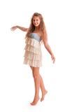 Muchacha adolescente positiva Fotografía de archivo