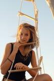 Muchacha adolescente preciosa Imagen de archivo libre de regalías