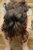 Muchacha adolescente presionada Foto de archivo libre de regalías