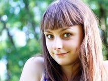 Muchacha adolescente que se divierte Imagen de archivo