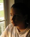 Muchacha adolescente seria Imagen de archivo