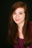 Muchacha adolescente sonriente Imagen de archivo
