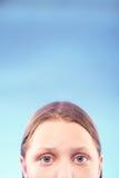Muchacha adolescente triste Fotografía de archivo