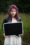 Muchacha adolescente triste Fotos de archivo