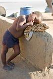 Muchacha africana fotografía de archivo