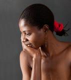 Muchacha africana Fotografía de archivo libre de regalías