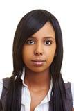 Muchacha africana joven Imagenes de archivo