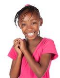 Muchacha africana linda Imagenes de archivo