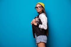 Muchacha afroamericana de moda Imagenes de archivo