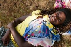 Muchacha agradable adolescente dulce Fotografía de archivo libre de regalías
