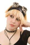 Muchacha alternativa joven Foto de archivo