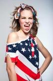 Muchacha americana linda Imagen de archivo libre de regalías