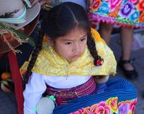 Muchacha andina 2 Imagenes de archivo