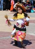 Muchacha andina 5 Fotos de archivo
