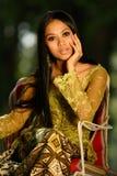 Muchacha asiática Fotos de archivo