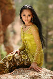 Muchacha asiática Foto de archivo
