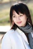 Muchacha asiática. Imagen de archivo
