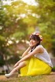 Muchacha asiática adolescente Fotos de archivo