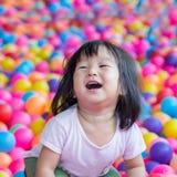 Muchacha asiática feliz fotografía de archivo
