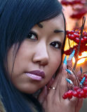 Muchacha asiática hermosa Imagen de archivo