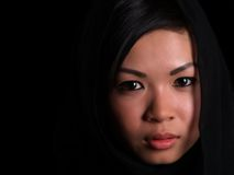 Muchacha asiática hermosa Imagenes de archivo