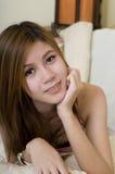 Muchacha asiática joven Fotografía de archivo libre de regalías