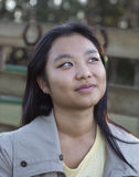 Muchacha asiática linda Fotografía de archivo
