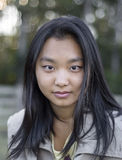 Muchacha asiática linda Imágenes de archivo libres de regalías