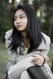 Muchacha asiática linda Foto de archivo