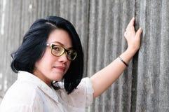 Muchacha asiática Tailandia del tiro principal Imágenes de archivo libres de regalías