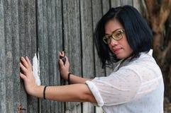Muchacha asiática Tailandia del tiro principal Imagen de archivo