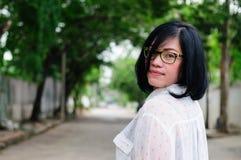 Muchacha asiática Tailandia del tiro principal Fotos de archivo libres de regalías