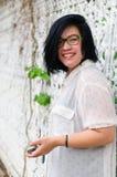 Muchacha asiática Tailandia del tiro principal Foto de archivo