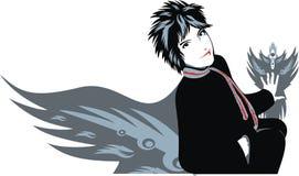 Muchacha atenta de Yuka libre illustration