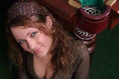 Muchacha atractiva Imagen de archivo