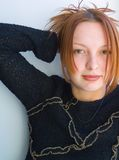 Muchacha atractiva Fotografía de archivo libre de regalías