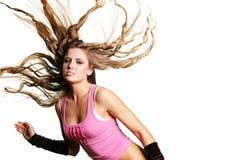 Muchacha atractiva del bailarín fotos de archivo libres de regalías