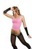 Muchacha atractiva del bailarín fotografía de archivo libre de regalías