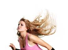 Muchacha atractiva del bailarín foto de archivo