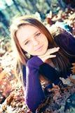 Muchacha bastante adolescente Foto de archivo libre de regalías