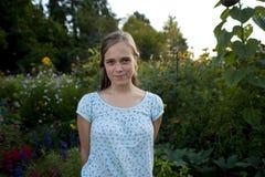 Muchacha bastante adolescente Imagen de archivo