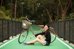 Muchacha bastante tailandesa Fotografía de archivo libre de regalías