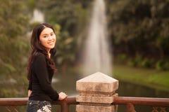 Muchacha bastante tailandesa Fotos de archivo libres de regalías