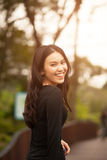 Muchacha bastante tailandesa Imagenes de archivo