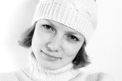 Muchacha blanca Imágenes de archivo libres de regalías