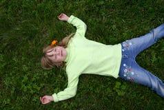 muchacha bonita Imagenes de archivo