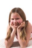 Muchacha bonita de diez años Foto de archivo libre de regalías