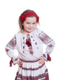 Muchacha bonita de la foto de Ethno Fotografía de archivo libre de regalías